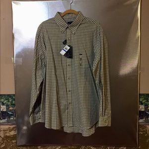 Men's XL Van Heusen Long Sleeve Dress Shirt New